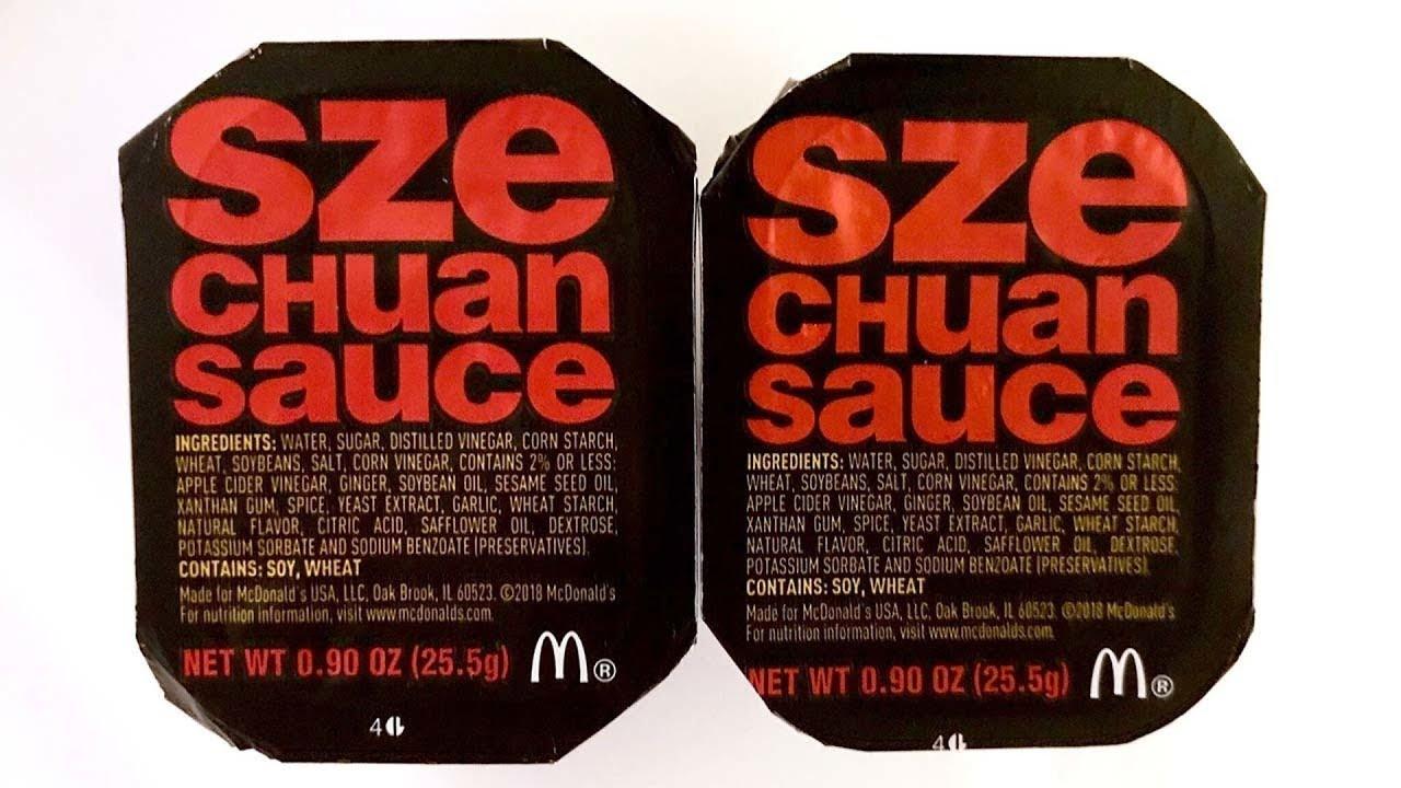 how to make szechuan sauce maccas