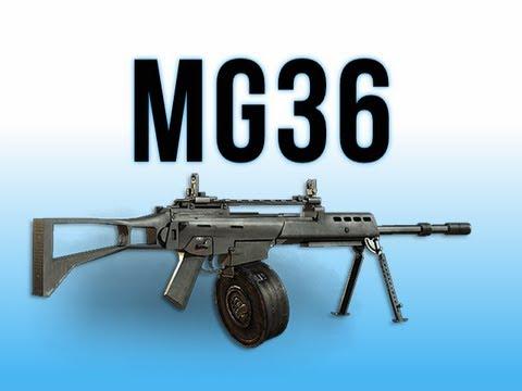 MW3 In Depth - MG36 LMG - YouTube