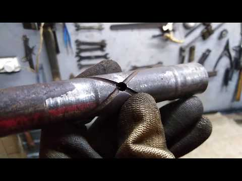 Ремонт задней подвески Иж 49: замена втулок в раме