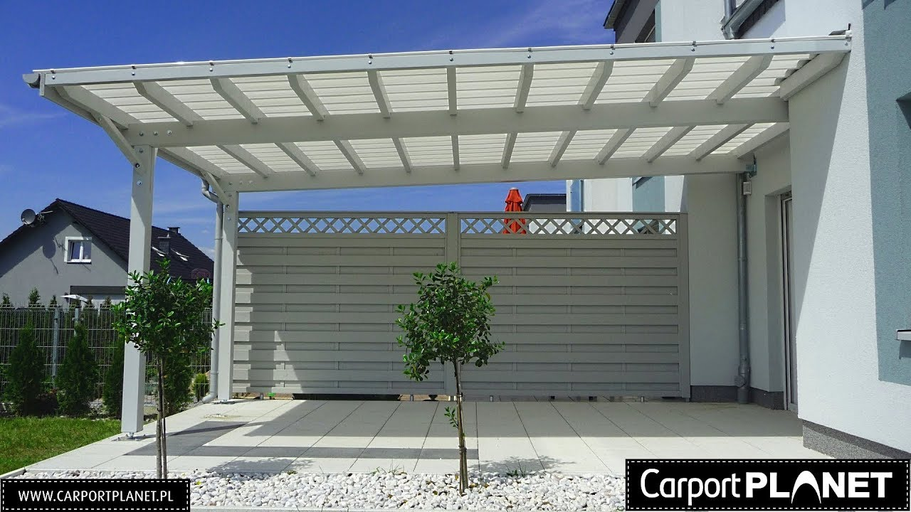 Wooden Terrace And Carports Roof Carport Planet Installation
