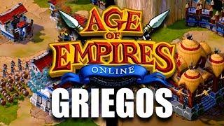 AGE OF EMPIRES ONLINE - PRIMERA PARTIDA con GRIEGOS