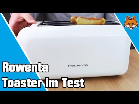 rowenta toaster im test langschlitztoaster f r 4 scheiben youtube. Black Bedroom Furniture Sets. Home Design Ideas