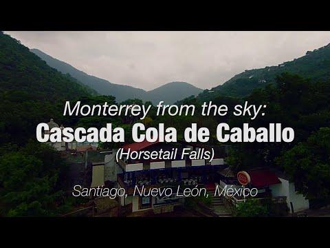 Cascada Cola de Caballo: Monterrey from the Sky