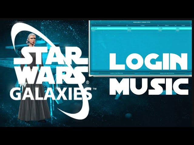 Star Wars Galaxies Login Screen + SWG Login Music