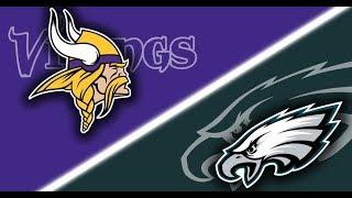 NFC Championship Game: Eagles vs. Vikings Madden NFL 18 Prediction