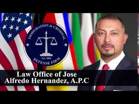 Immigration and Criminal Defense Attorney | Law Office of Jose Alfredo Hernández | Santa Ana, CA