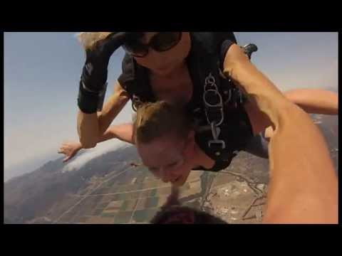 Skydive Santa Barbara. 13,000 ft. jump.