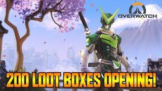 200+ OVERWATCH ANNIVERSARY LOOT BOXES OPENING! - OVERWATCH SEASON 4 GAMEPLAY