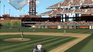 MLB 2K11 PC Gameplay SEA@PHI - 3