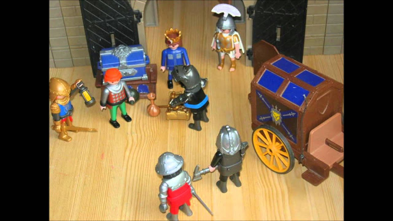 film chevalier playmobil le bien contre le mal youtube
