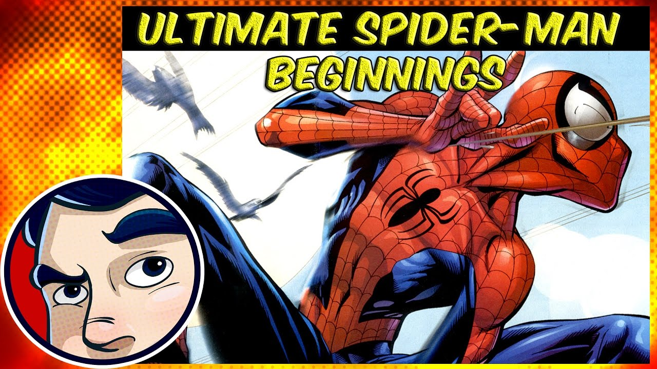 ultimate spider man the beginning complete story youtube