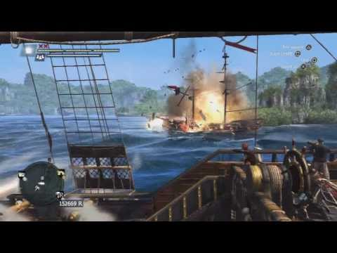 Assassins Creed 4 - Attacking a Royal Convoy