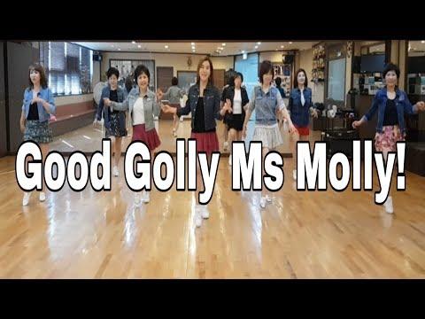 Good Golly Ms Molly !! Line Dance (Improver)Ayu Permana
