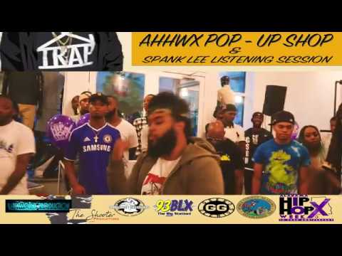 Alabama Hip Hop Week 2017 - Geeked Gennius Pop Up Shop Hosted by Spank Lee