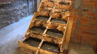 Изготовление бетонной лестницы ,часть 6 ФИНИШ(, 2014-07-07T17:43:55.000Z)