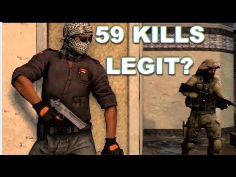 59 Kills But Is He LEGIT? CS:GO OVERWATCH