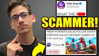 FaZe Sway EXPOSES FAKE YouTube SCAMMERS with 100,000K + Subscribers!