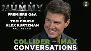 The Mummy Q&A With Tom Cruise, Alex Kurtzman And Cast - Collider IMAX Conversations