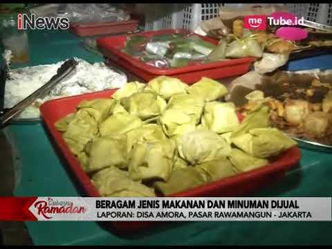 Harga Takjil Ramah Kantong, Pasar Rawamangun Diserbu Pengunjung - iNews Sore 17/05