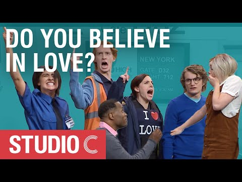 Don't Get on That Plane (in the name of love) - Studio C