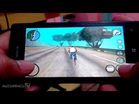 GTA San Andreas Pra 512 Ram Windows Phone 8 Lumia 520