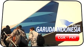 Flight Video with Garuda Indonesia GA550 - Jakarta to Palangkaraya