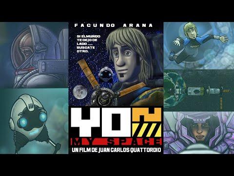 YON MY SPACE  (2021 ) con FACUNDO ARANA / animacion sci fi  by JC QUATTORDIO/ castellano