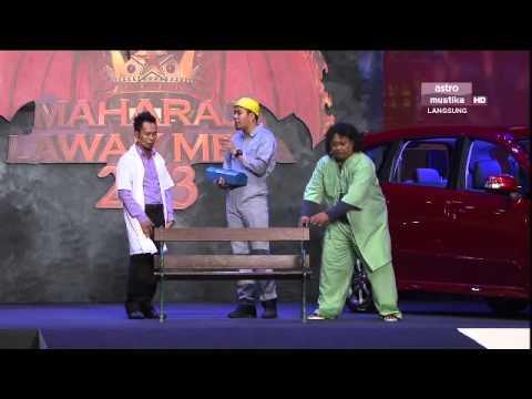 Maharaja Lawak Mega 2013 - Minggu 9 - Persembahan Sepahtu