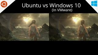 Video Linux Gaming (Ubuntu) vs Windows 10 on VMware Benchmarks download MP3, 3GP, MP4, WEBM, AVI, FLV Mei 2018