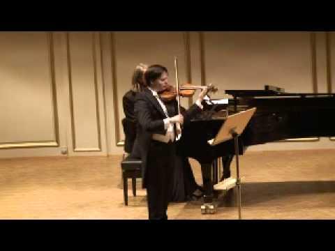 Stefan Tarara, Violin - Yulia Miloslavskaya, piano