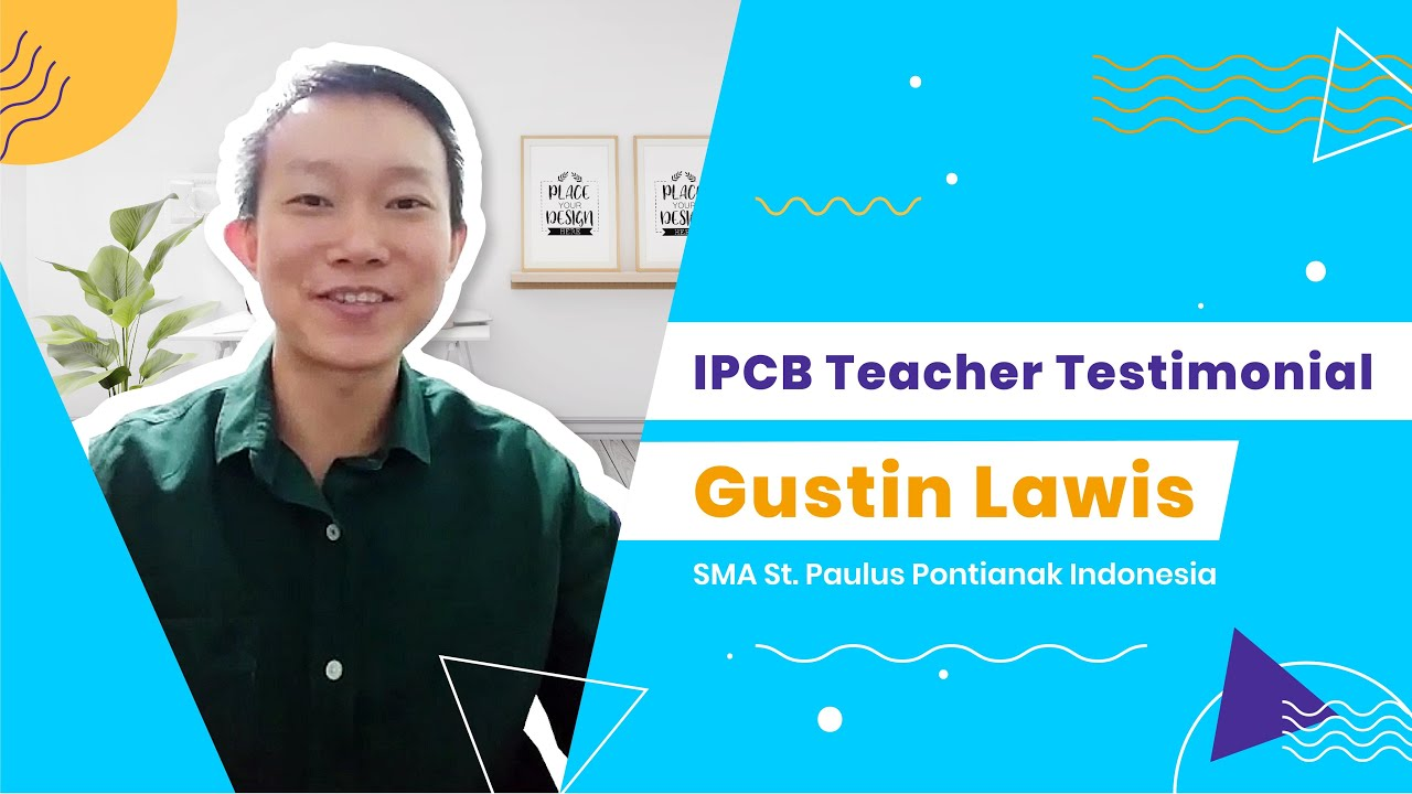 [IBE ALLIANCE] - IPCB Teacher Testimonial by SMA St. Paulus Pontianak Indonesia