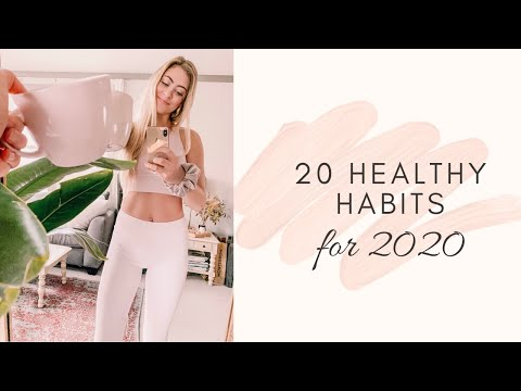20 HEALTHY HABITS TO START IN 2020✨your plantiful life