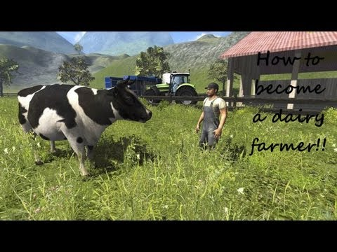 how to play dairy farm game