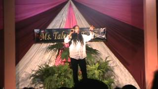 Chris Garcia- Chutney Bacchanal (LIVE! Ms Talented T&T 2012)