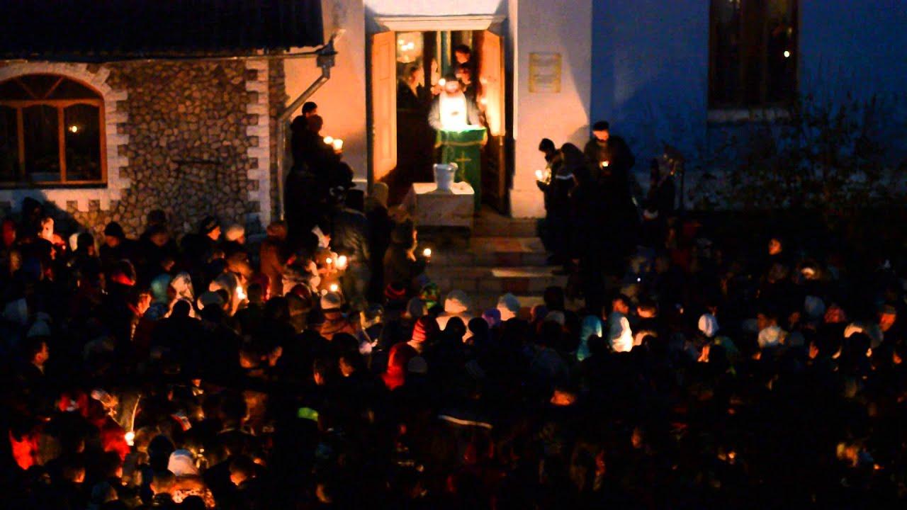 Exorcism mass in Saharna Monastery