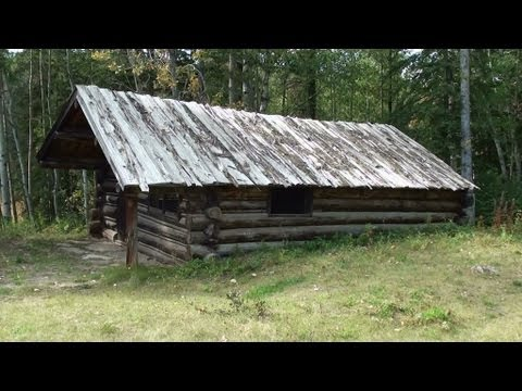 Abandoned Trapper Cabin