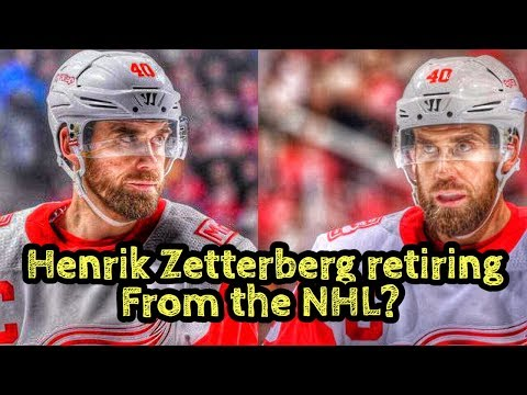 Henrik Zetterberg Being Forced To RETIRE From The NHL?