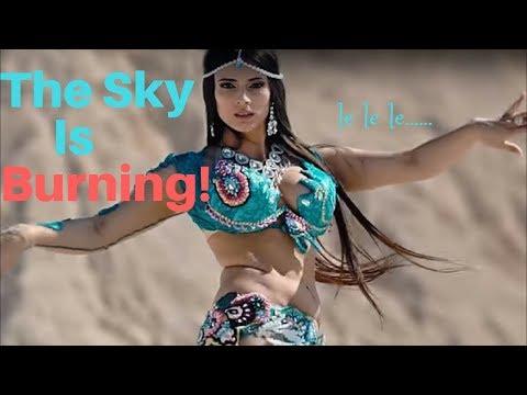 Super hot belly dance by Samira Zopunyan