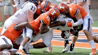 @IlliniFootball Highlights | Illinois 52, Kent State 3 | 9/5/15