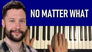 Calum Scott - No Matter What (Piano Tutorial Lesson)