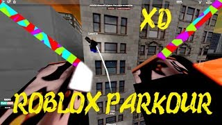 ROBLOX PARKOUR: Running with Camey! { X }