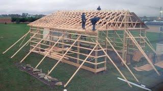 Amish Built Garage Tour - Part 1