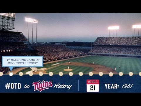 April 21, 1961: First MLB game in Minnesota