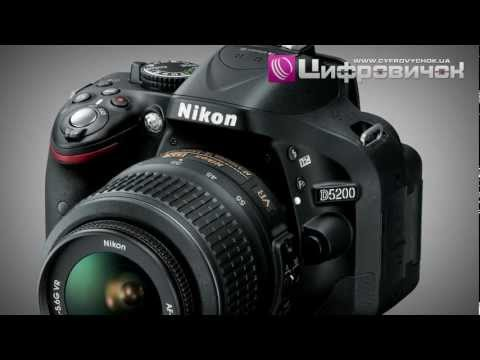 Видеообзор Nikon D5200