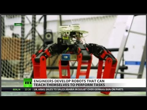 RT America: Newest robots inspired by nature