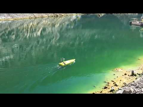CEE-USV Mine Tailings Bathymetry Surveys with a Remote Control Hydrographic Drone Boat