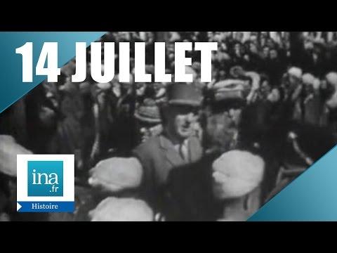 Défilé militaire du 14 juillet 1958 sur les Champs Elysées | Archive INA