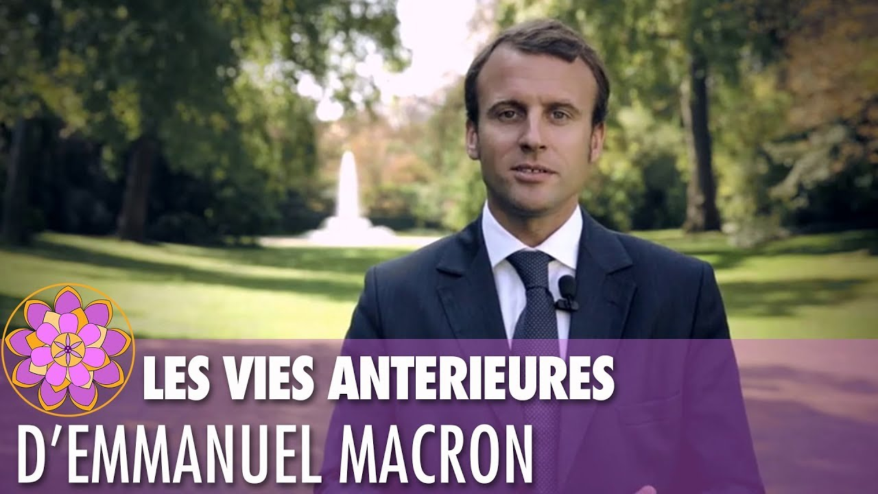 ⭐ LES VIES ANTÉRIEURES D'EMMANUEL MACRON