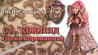 Обзор на куклу Ever After High С.А.Кьюпид