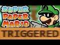 How Super Paper Mario Triggers You